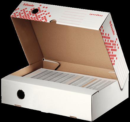 Esselte Magazine Holder white scatola per la conservazione di documenti Bianco